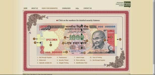 kalla nottu kandupikkum muraigal, 1000 rupees fake rupees note
