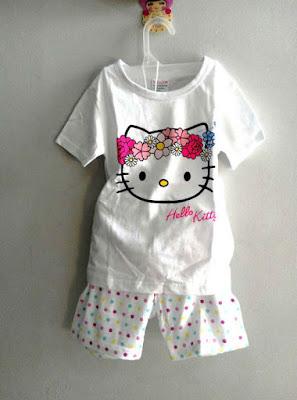 Baju Tidur Import Anak Perempuan Umur 1,2,3,4 tahun