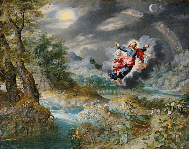 [Imagem: Creation-of-the-World.-Painting-by-Brueghel.jpg]