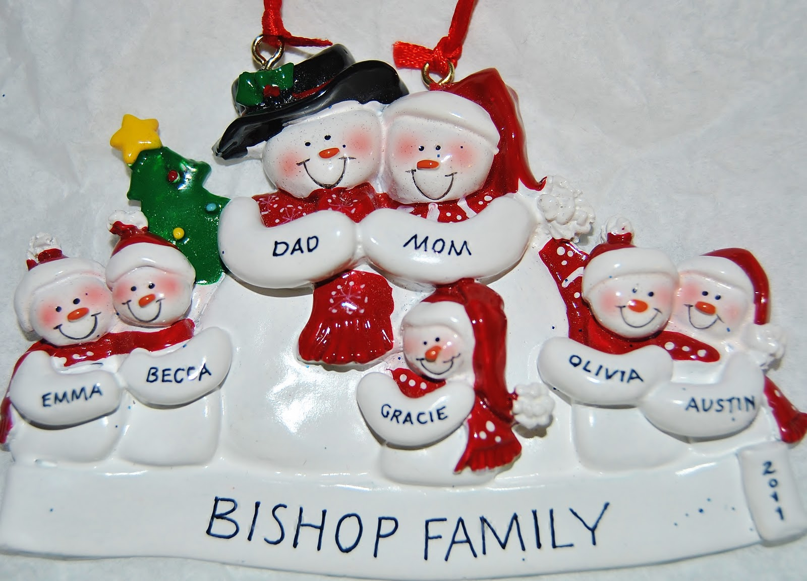 Win a personalized christmas ornaments from 39 ornaments for Personalized christmas photo ornaments