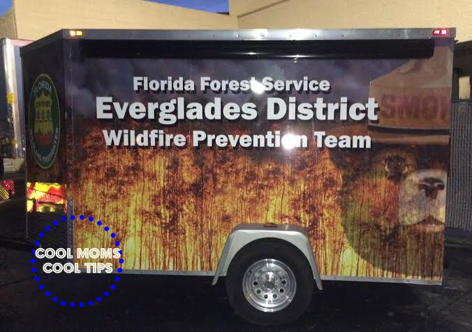 cool moms cool tips Everglades wildfire prevention team #fireandrescue