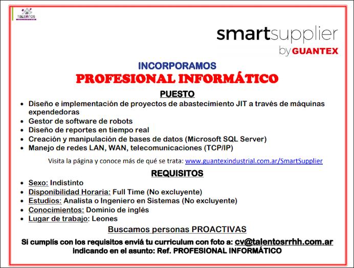 ESPACIO PUBLICITARIO: GUANTEX
