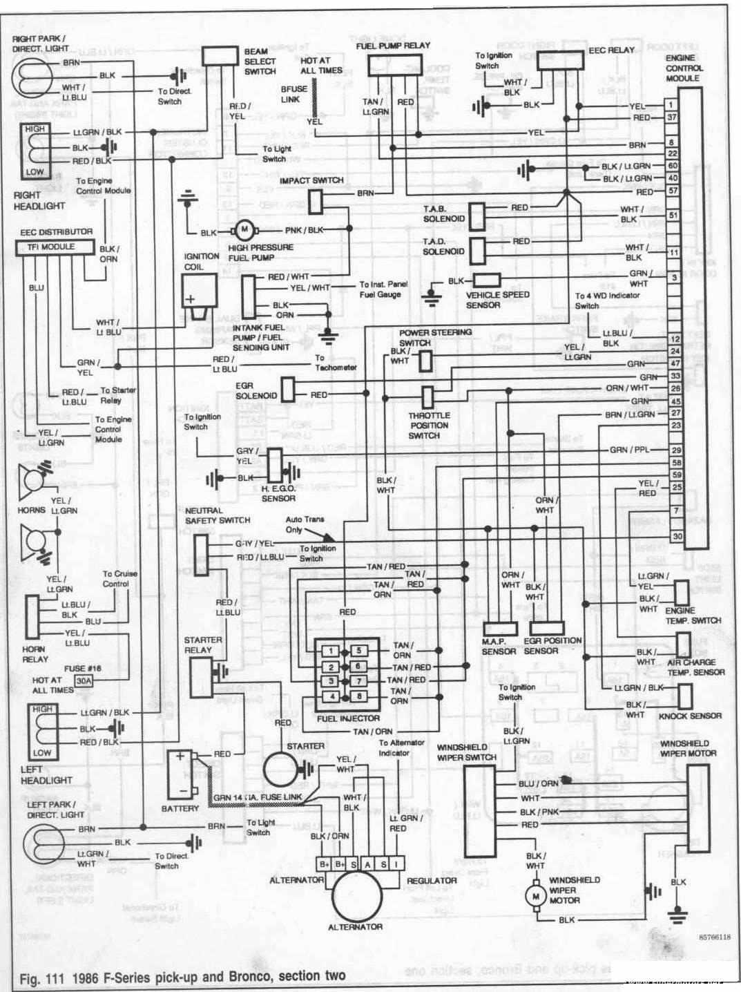1988 Ford Ranger Wiring Diagram & Wiring Diagram : Fuel Pump ...