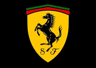 Ferrari Emblem Logo Vector