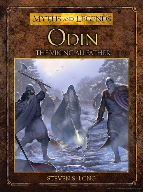 Odin The Viking Allfather book illustrated by RU-MOR for OSPREY Publishing, colection Myths and Legends. Norse