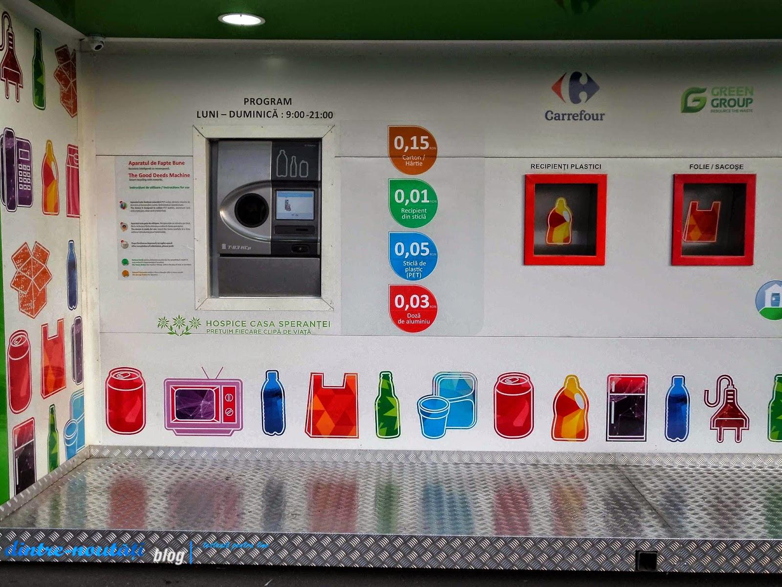 Reciclatorul Inteligent Carrefour Brasov tarif