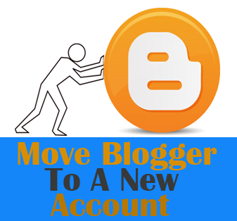 shift blogger blog to another email account