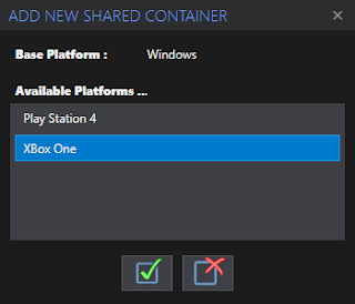Add New Shared Container