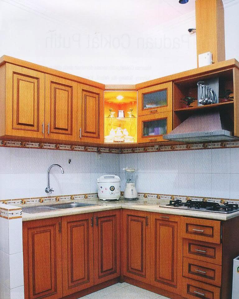 616 Sumber Rejeki Kitchen Set Letter L