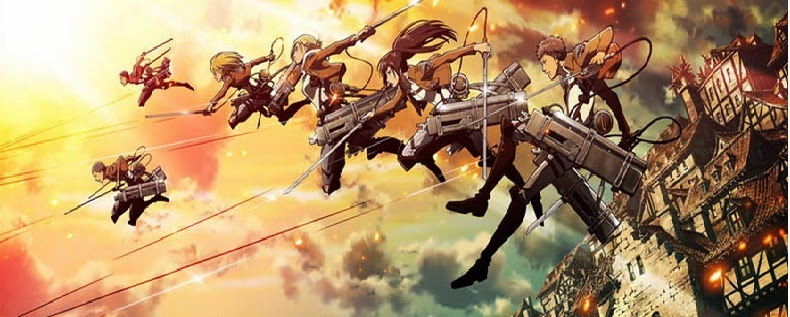 Two Attack on Titan Anime Movies for 2014 and 2015