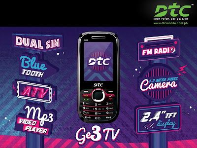 DTC Mobile GE3 TV: Specs, Price And Availibility
