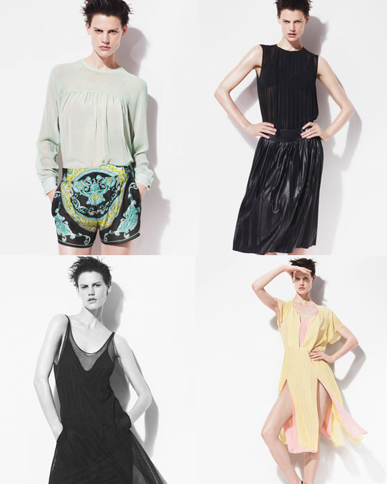 lookbook Zara primavera