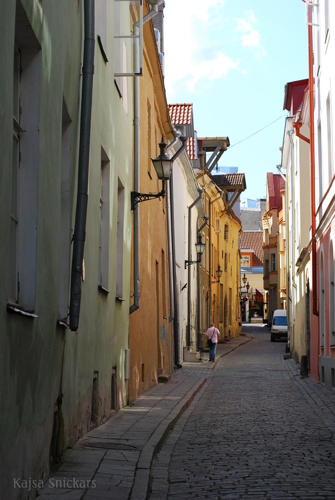 Tallinn - gamla stan - old town