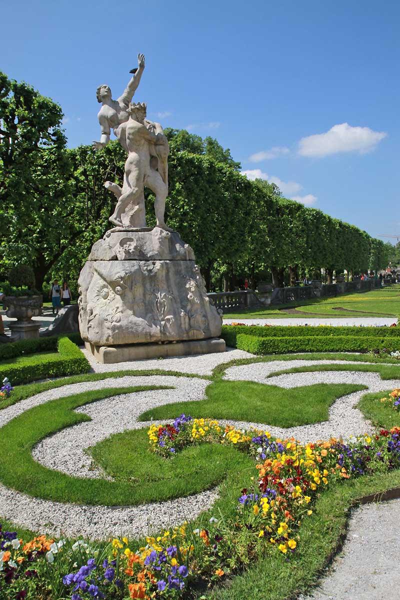 Mirabell garden statue, Salzburg Revisited Mirabell Gardens