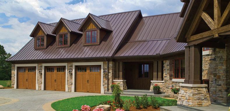 Ramirez custom overhead doors clopay introduces canyon for Clopay canyon ridge ultra grain price