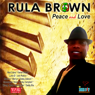 RULA BROWN - 'Peace and Love' CD with 38 tracks for $11.99, Proceeds To PALAS