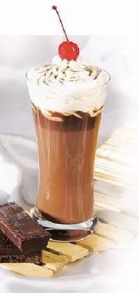 Mungkin anda sering menikmati ice chocolate cappucino di cafe, bisa ...