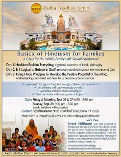 Jagadguru Kripalu Ji Maharaj disciple to lead Bhagvad Gita lectures in Plano Texas