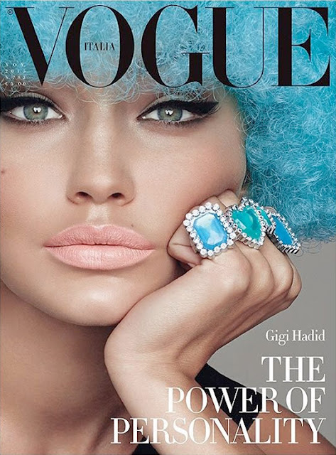 Fashion Model @ Gigi Hadid by Steven Meisel for Vogue Italia November 2015