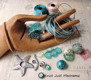 Micro Macrame Wrap Bracelet kit and eClass giveaway winner