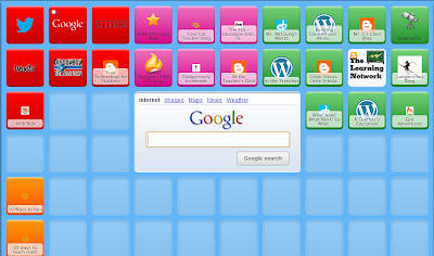 Symbaloo page