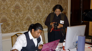 Official Photographer, Jennifer Ytuarte and assistant