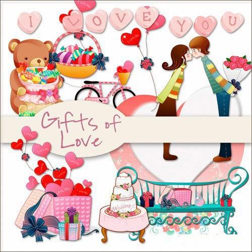 Presentes de Amor arquivos PNG