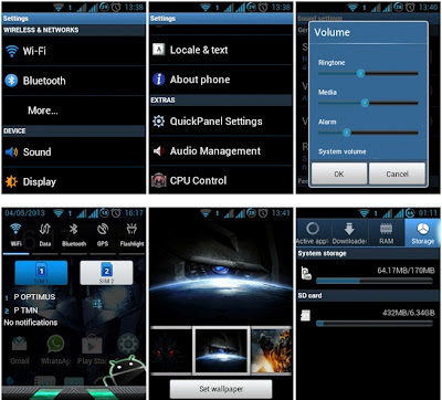 TransfROMers - Custom Rom Samsung Galaxy Young Duos GT-S6102