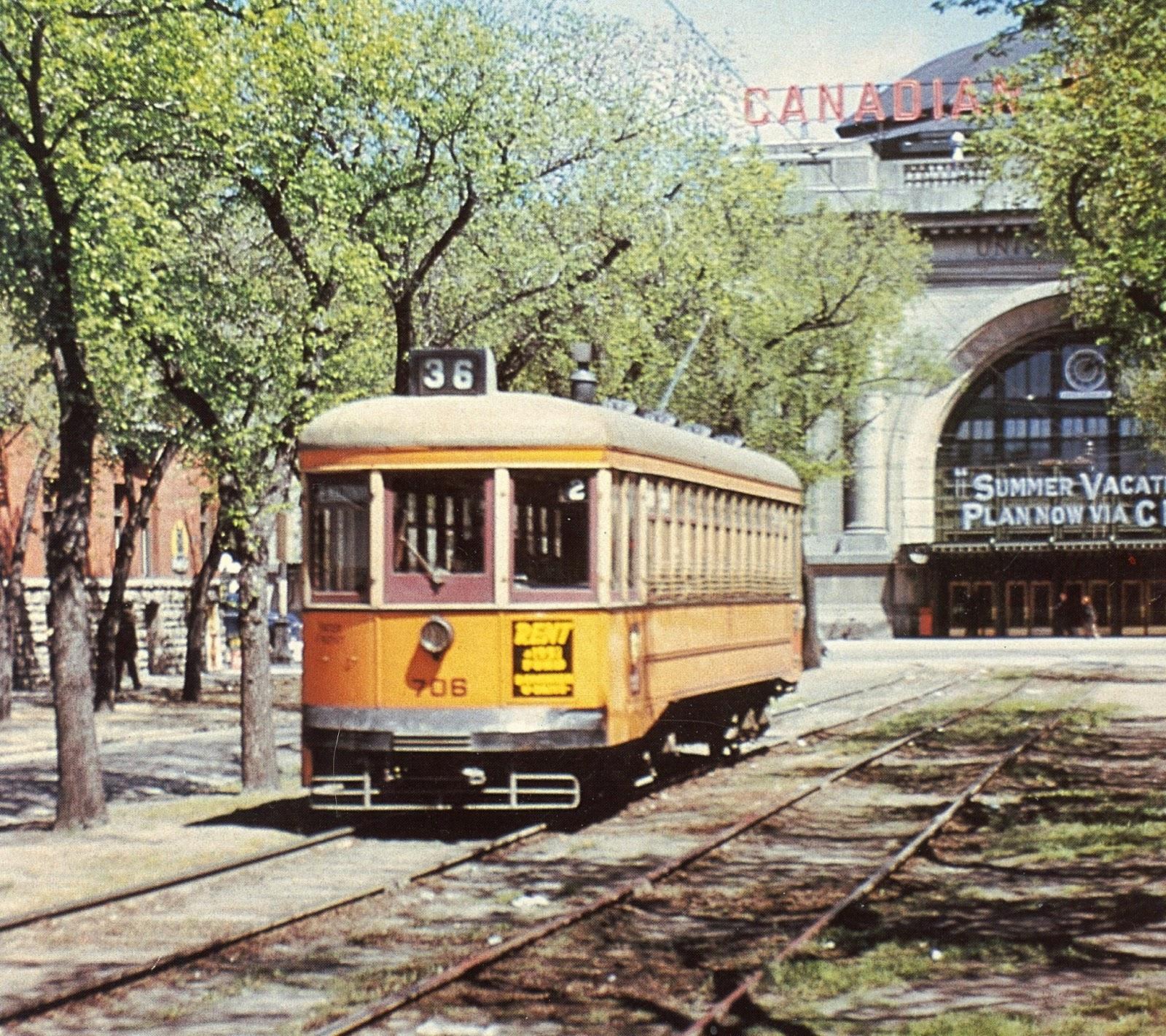 here s something our good friend zenon lisakowski sent us it s a locally produced retrospective film on winnipeg s streetcar system