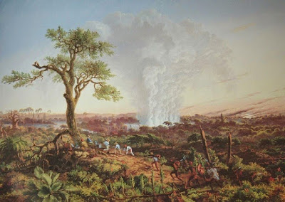 Victoria Falls, 1863