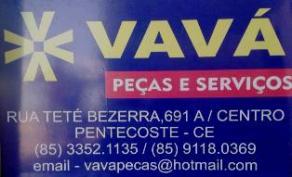 Conheça Vavá Peças & Serviços - Click na Imagem