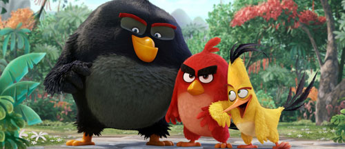 Angry Birds movie teaser trailer, images and poster