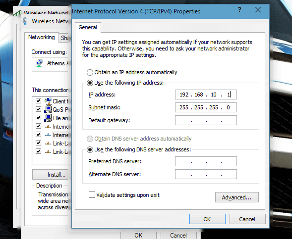 Cara Merubah IP Address Pada Jaringan Yang Anda Gunakan