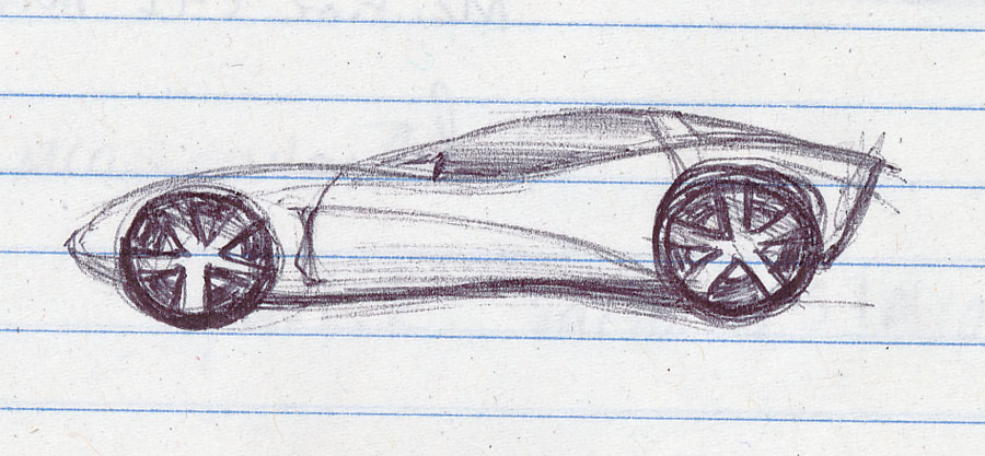 The Bell Curve Of Life February - Cool cars easy to draw