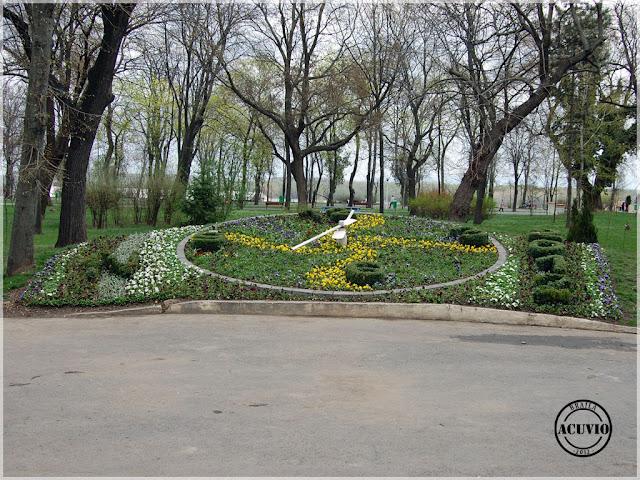 Brăila Grădina Mare Ceasul Floral