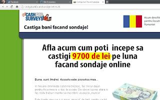 scam - castiga bani online