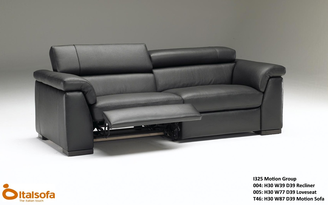 Natuzzi Leather Sofas & Sectionals by Interior Concepts Furniture italsofa i325 LEATHER Sectional