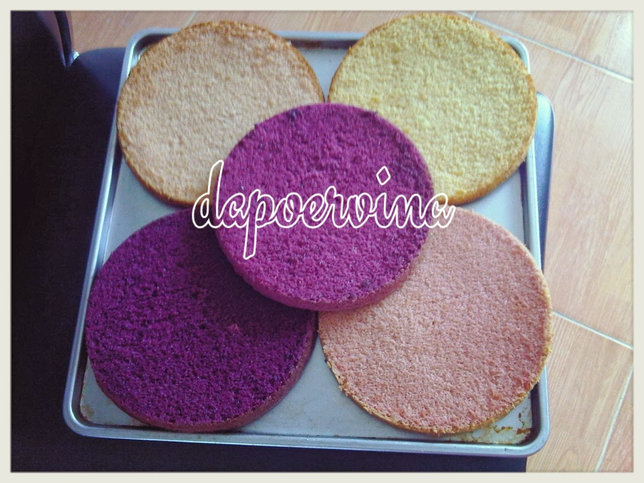 Resep Ombre Cake Ncc