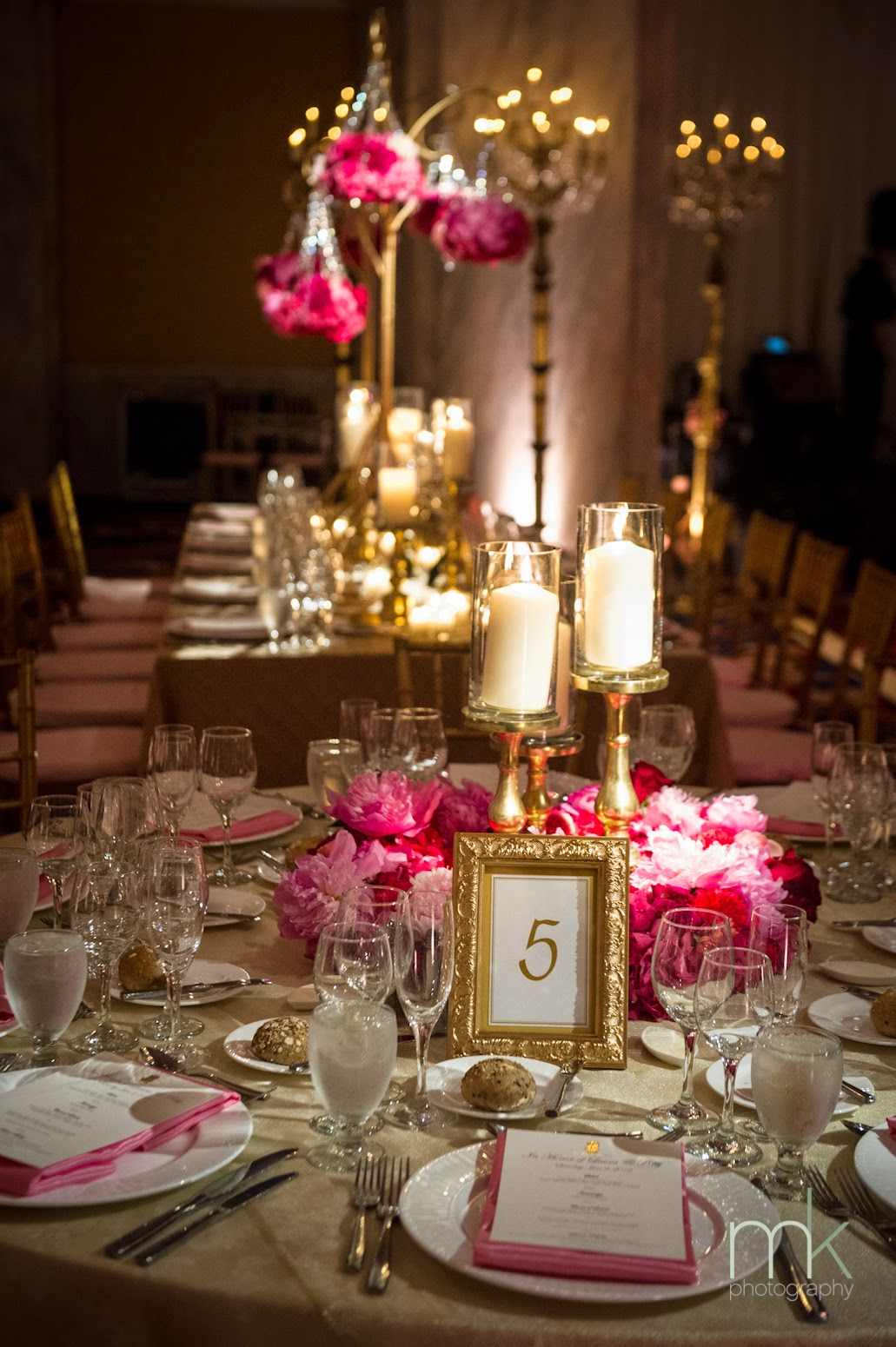 Gold centerpieces wedding reception stuff ideas