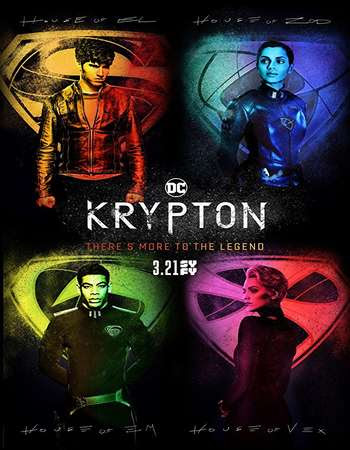Poster Of Krypton Season 01 2018 Watch Online Free Download