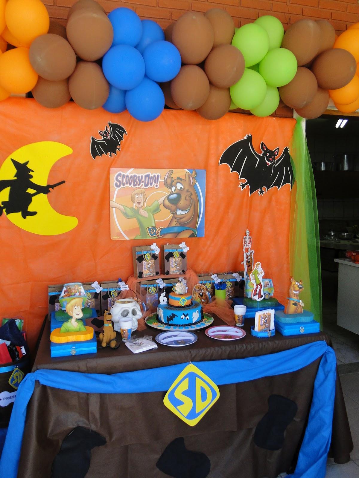 Preparando aula scooby doo festa de anivers rio infantil - De scooby doo ...