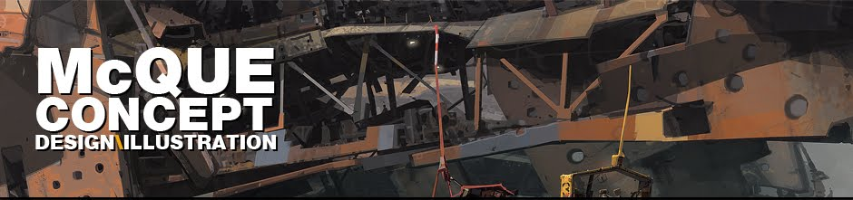IAN MCQUE | CONCEPT ART