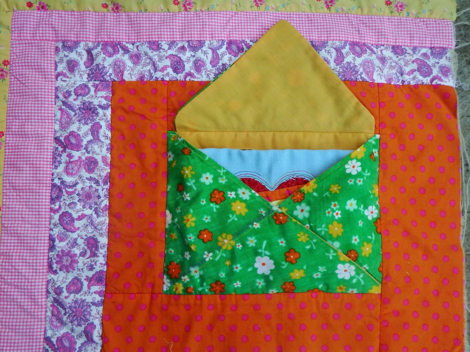 Wonky Patchwork: Envelope in a Quilt Block : envelope quilt pattern - Adamdwight.com
