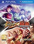 Jugando a Street Fighter x Tekken (psvita)