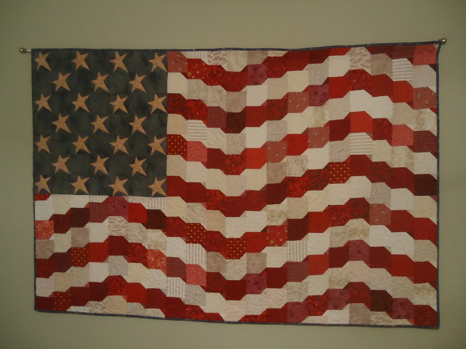 Stars & Stripes Quilt | Polka Dot Palm Tree : stars and stripes quilt - Adamdwight.com