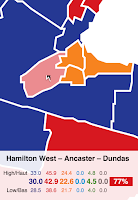 Strategic tactical voting in Hamilton West Ancaster Dundas