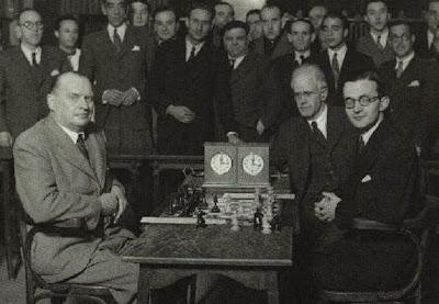 Partida de ajedrez Alekhine-Rey Ardid