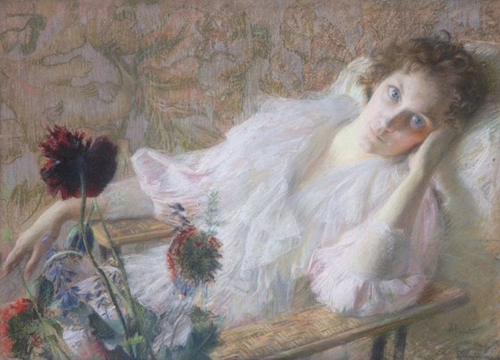 Armand Point 1861-1932 | French Symbolist painter