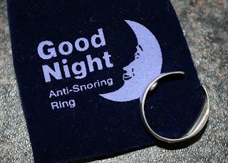 good night sleep anti snoring ring