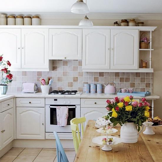 A casa dos sonhos decora o vintage country o mundo de cal ope - Vintage art for your modern kitchen ...